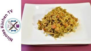 Gebratene Nudeln - Kenwood Cooking Chef Gourmet