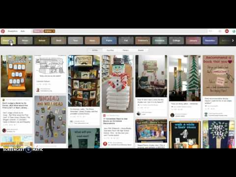 Searching for Library Displays on Pinterest