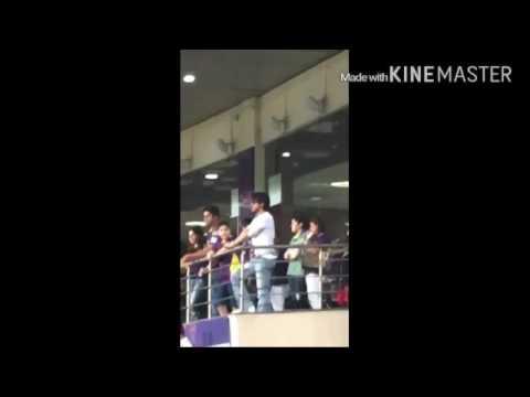 Shah Rukh Khan Hugging Virat Kohli & AbRam Fighting With Parineeti Chopra In IPL 2016
