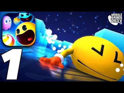 PACMAN PARTY ROYALE Gameplay (Apple Arcade)