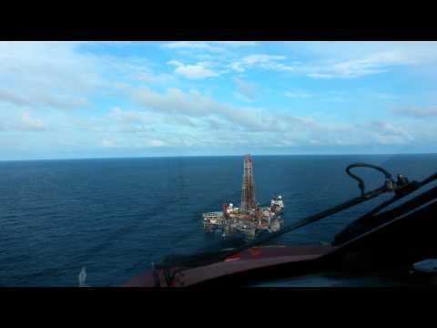 Offshore Flying in Trinidad