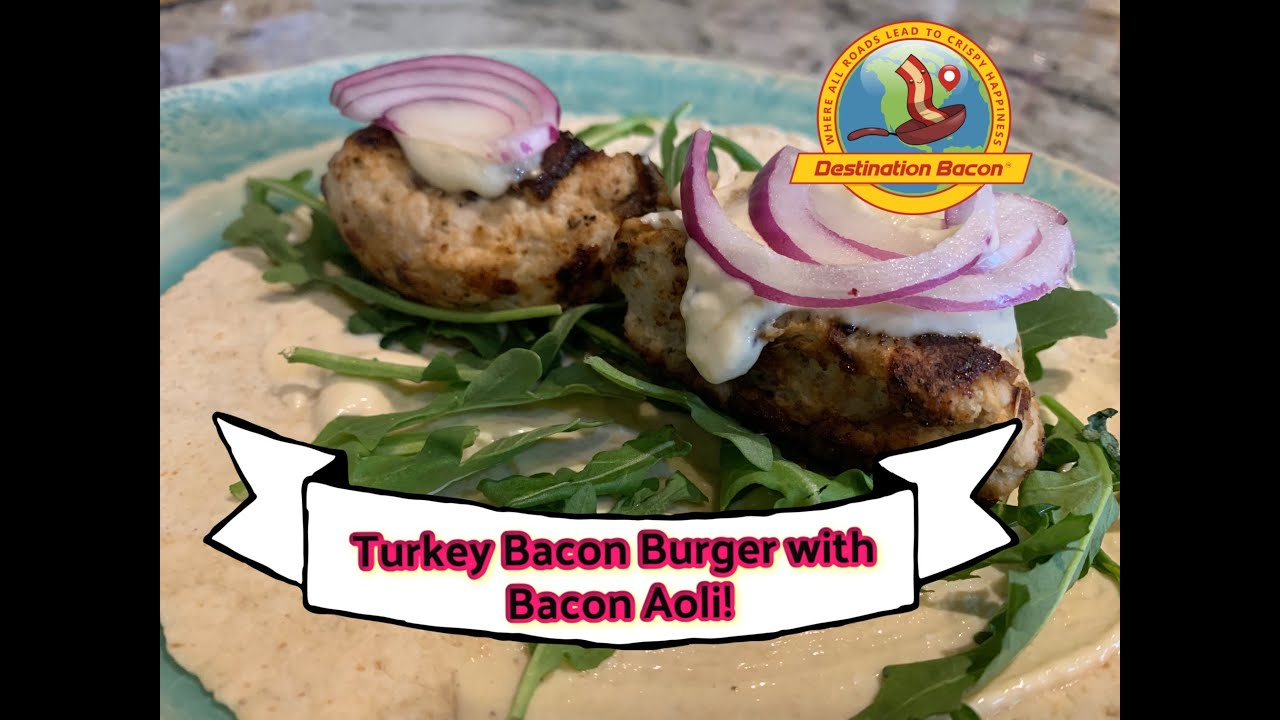 Turkey Bacon Burger