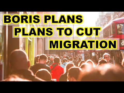 90,000 MIGRANTS TO BE REDUCED YEARLY | BORIS JOHNSON'S NEW SYSTEM | UK IMMIGRATION I BREXIT |2020 HD