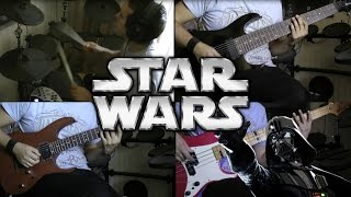 "Star Wars ""Imperial March"" Metallica Style!"