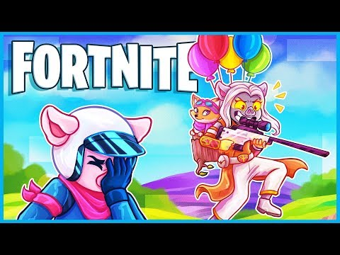 Fortnite with my crazy girlfriend...