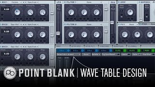 NI Massive: Synthesis & Sound Design Pt 2 – Wave Tables in Massive