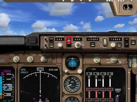 Flight Simulator X - Tutorial - Autopilot (GPS Navigation)