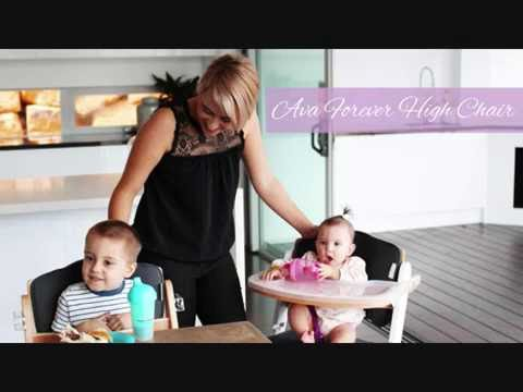 Ava High Chair Life Style Video