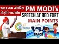 Indians In Space - Mission 2018 - PM Modi Red Fort Speech Analysis - Current Affairs 2018