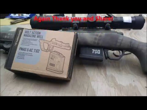 Remington 700 Magpul Bottom Metal Install - YouTube