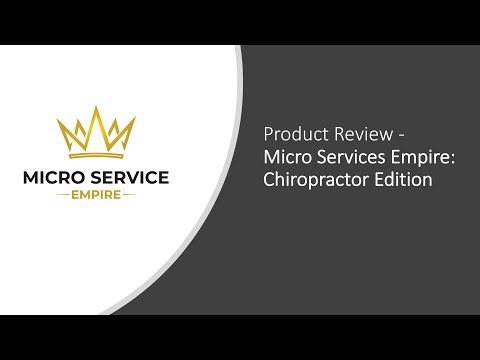 Product Review: Micro Service Empire - Chiropractor Edition
