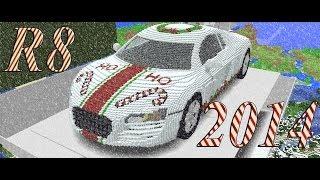Minecraft 3D Car: Audi R8 New Years Edition