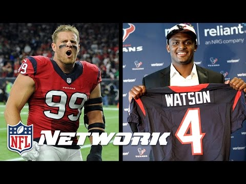 Do J.J. Watt & Deshaun Watson Make Texans a Super Bowl Contender? | Good Morning Football | NFLN