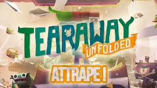 Tearaway Unfolded - Piggy in the Middle Trophy Guide   Trophée Attrape !