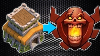 Clash of Clans: TH8 TROPHY PUSH ATTACK STRATEGY to Champion League!!