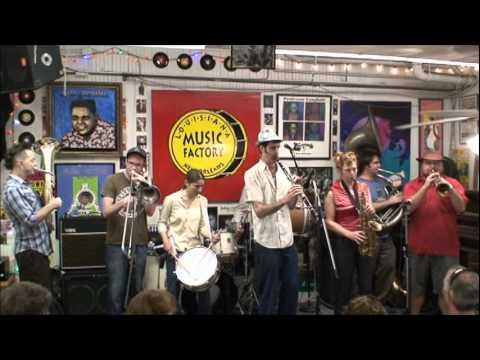 Panorama Brass Band @ Louisiana Music Factory JazzFest 2011