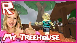 Construire ma cabane dans TreeLands / Roblox