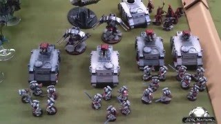 Warhammer 40k Battle Report Dark Eldar vs Grey Knights 1500pts