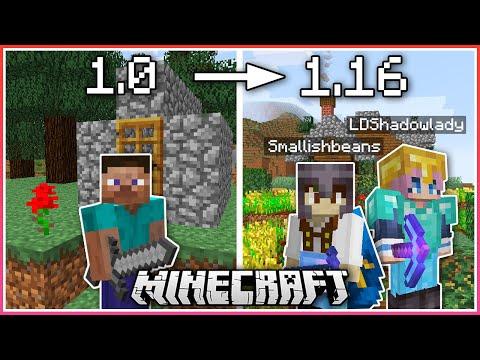 Minecraft BUT The Version Updates Everyday...