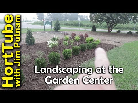 Big Garden Center Landscape Planting Job - Part 1