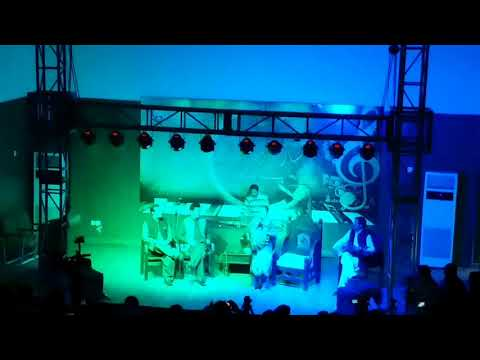 Na Me DilBari Na DilDari Okra  ///  Amjad Malang & Wagma performance at Nishtr Hall