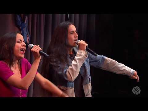 Xiuhtezcatl Martinez & Isa Roske performance   Bioneers 2017