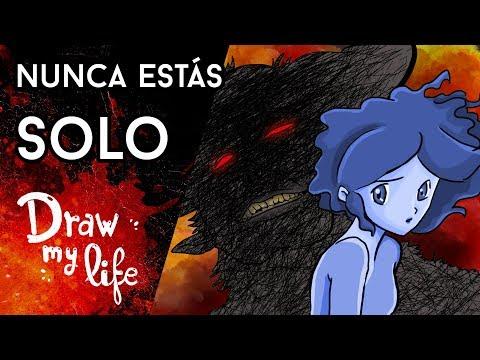 El ESPÍRITU que aparece cuando ESTÁS SOLO - Draw My Life en Español