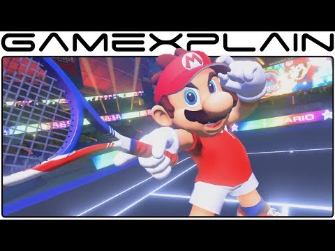 Mario Tennis Aces Reveal Trailer (Switch - Nintendo Direct Jan 2018)