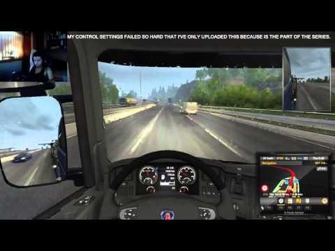 Euro Truck Simulator 2 Ep 12 Trelleborg to Oslo (Scandinavia DLC) |