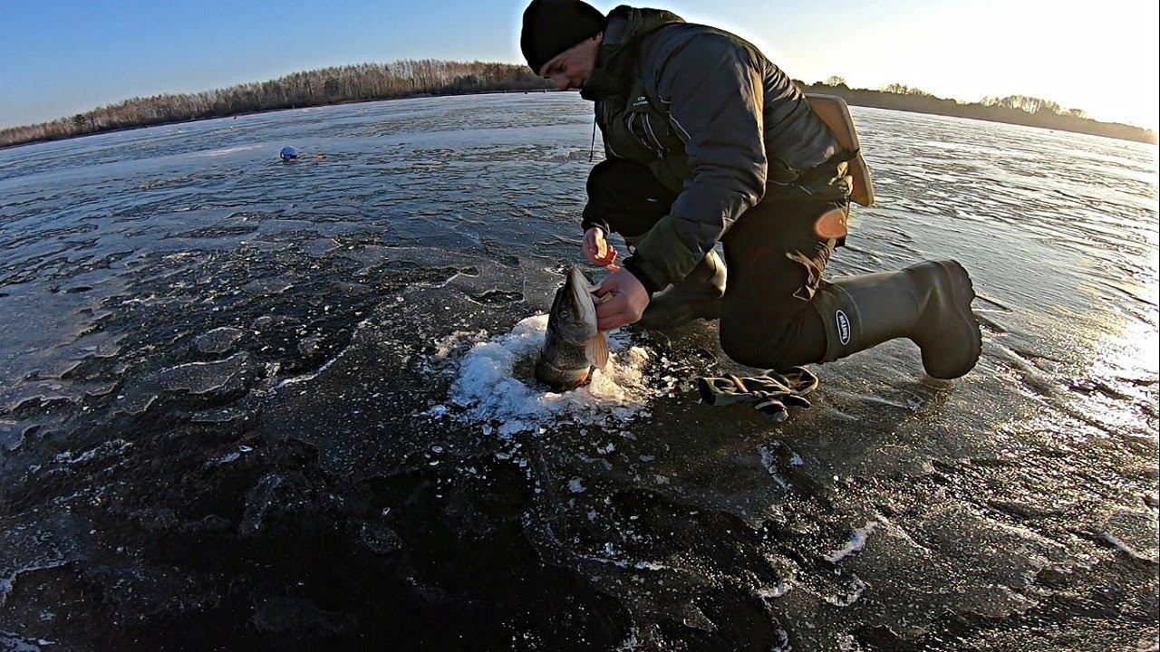 Первая зимняя рыбалка 2019