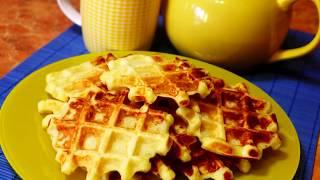 Завтрак для любимых | Вафли из картофельного пюре