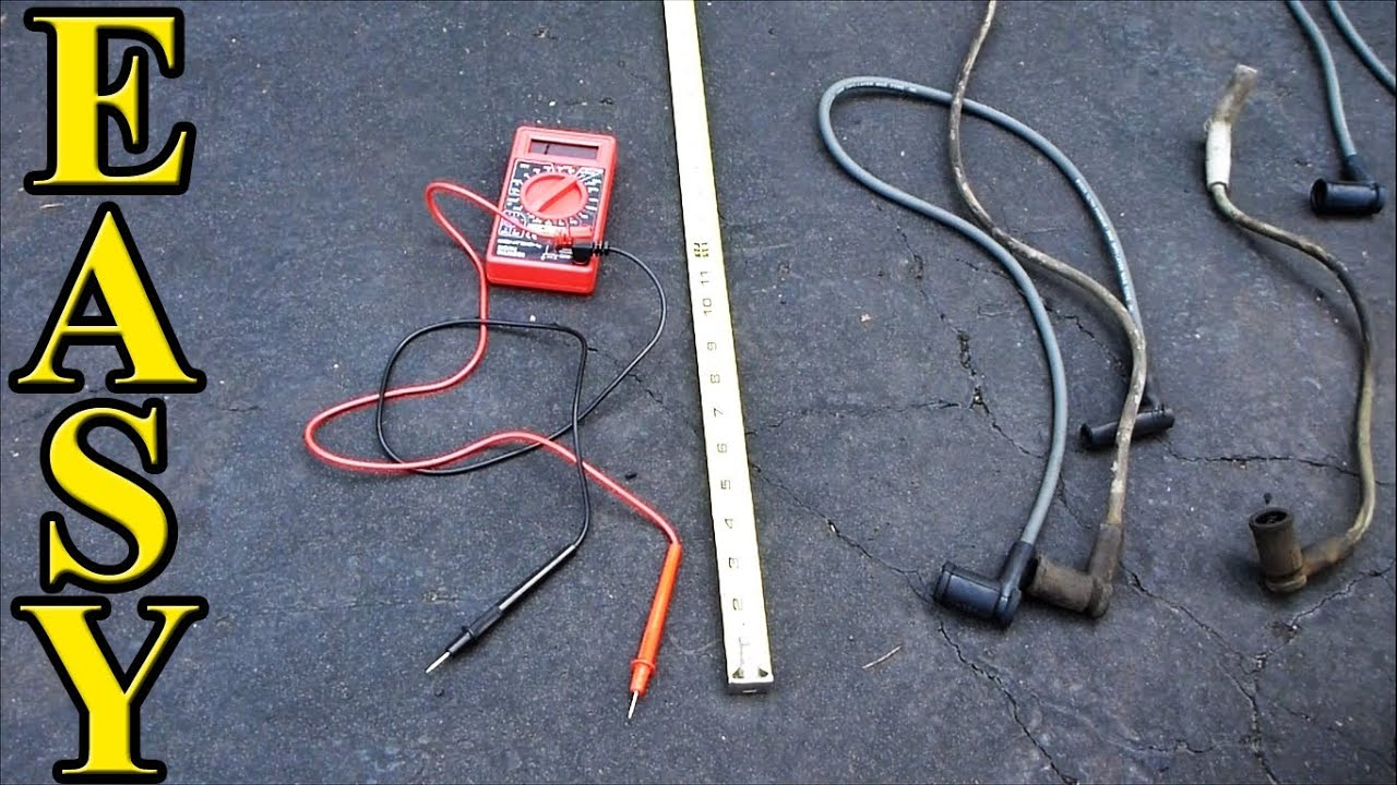 How To Test Spark Plug Wires Youtube 1998 Camaro Ignition Wiring