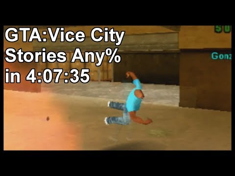 GTA: Vice City Stories Any% in 4:07:35