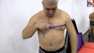 Похудение. Похудение Коляна начало. Body transformation