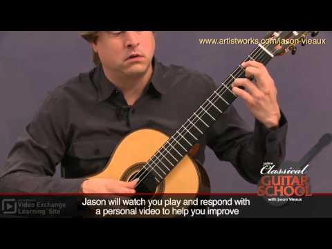 Classical Guitar Lesson: Bach BWV 996 - Courante