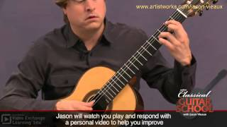 Classical Guitar Lesson: Bach BWV 996 - Courante