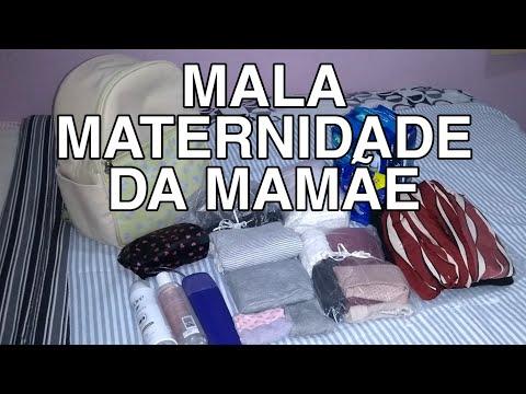 MALA MATERNIDADE DA MAMÃE PELO SUS / O QUE LEVAR? / Joelma Linhares