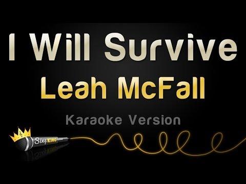 Leah McFall - I Will Survive (Karaoke Version)