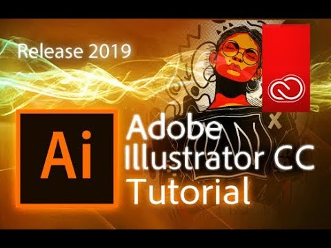 Illustrator CC 2019 – Full Tutorial for Beginners [+General Overview]