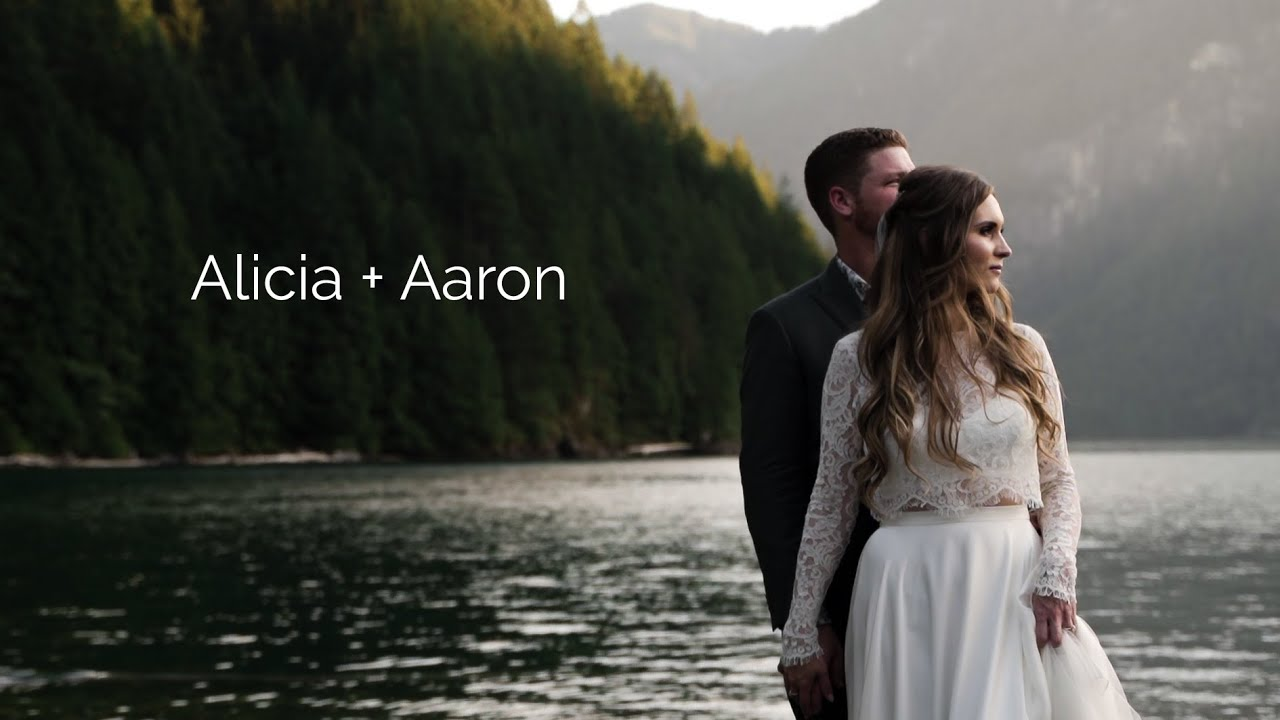 Scenic Lake Elopment | Alicia + Aaron | Paul Cameron Productions