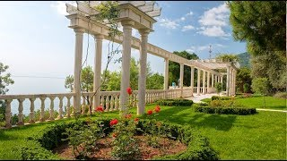 Парк Айвазовского, цены на билеты, экскурсия. Партенит. Крым отдых 2017.