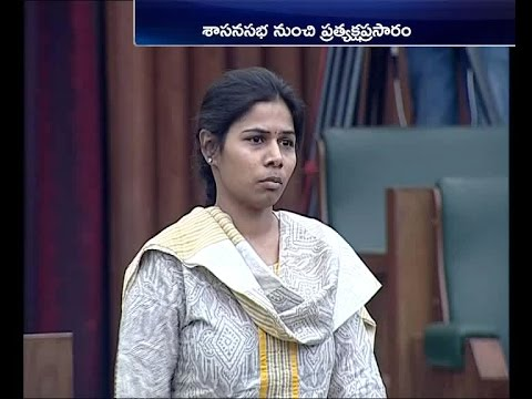Bhuma Akhila Priya Attends Assembly |  Remembers Her Father | Delivers Emotional Speech