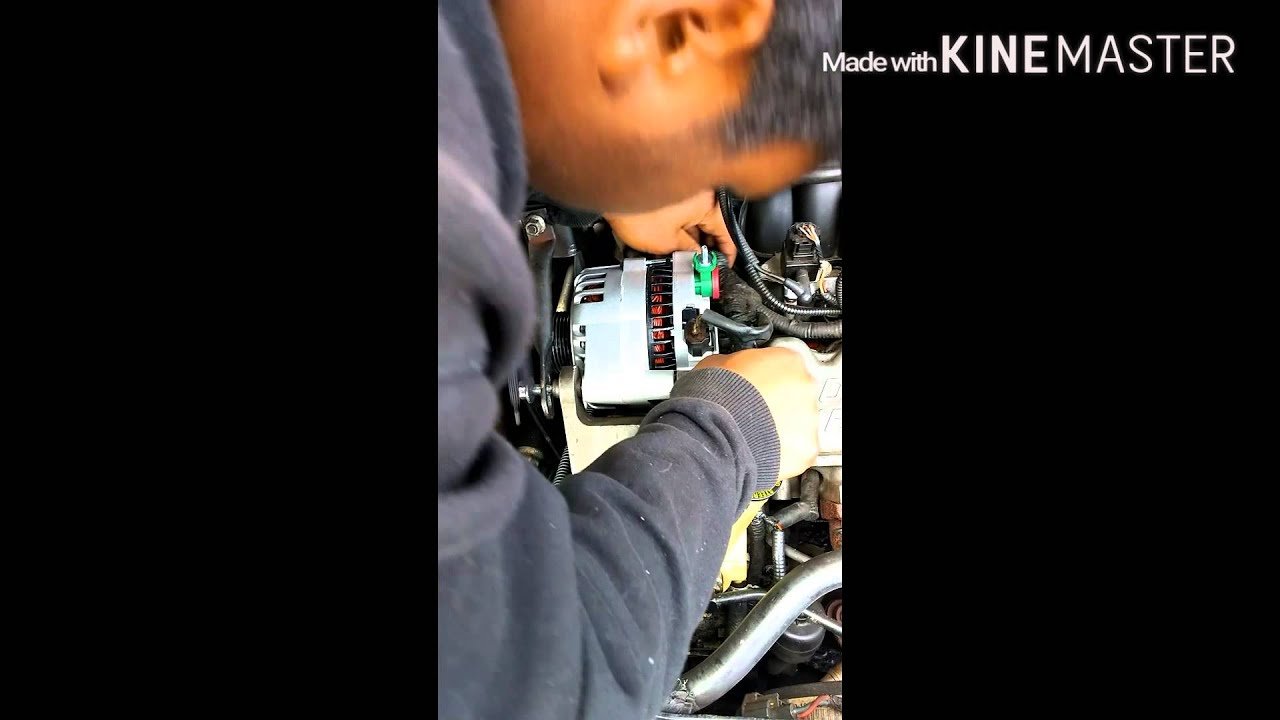 2004 Ford Taurus Alternator Removal And Install Youtube 07 Wiring Diagram