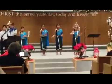 Dancing at the salvation army  temple corp 2016
