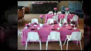 A- Kennedy's American Girl Birthday  Party & Pink Candy Bar Buffet
