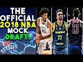 The Official 2018 NBA Mock Draft mp3
