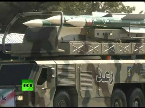 Военный парад в Иране (ВИДЕО)