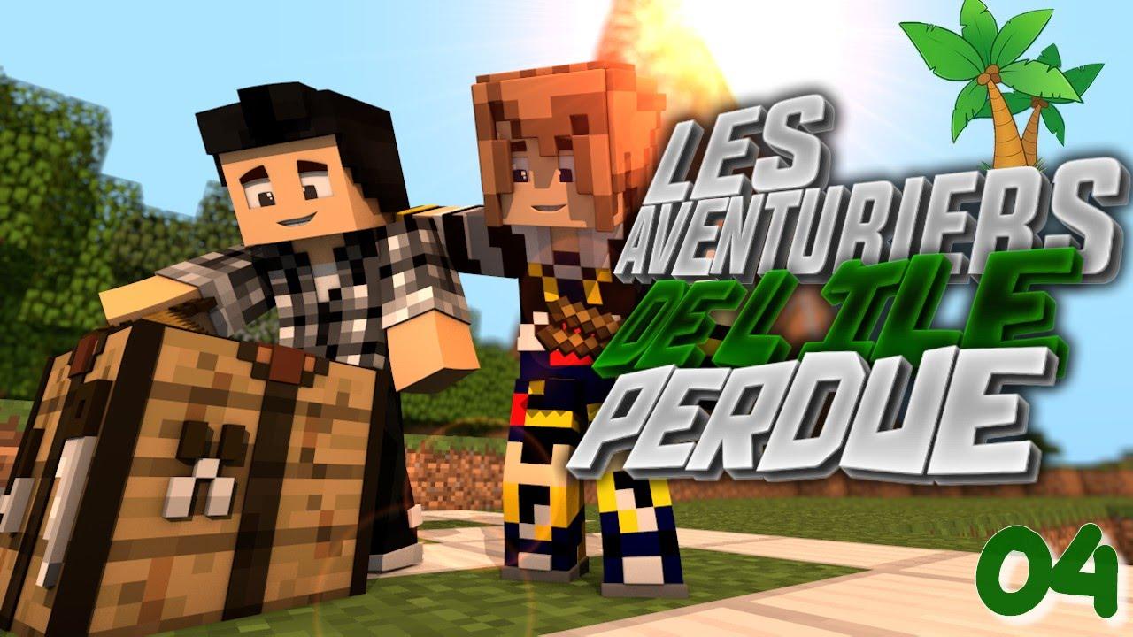 LA GROTTE DE LA MORT Les Aventuriers De Lîle Perdue Ep Avec - Minecraft die grobten hauser
