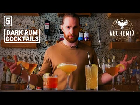 5 Dark Rum Cocktails | Alchemix