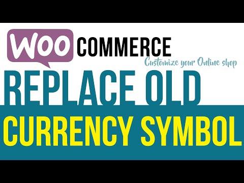 Change default Woocommerce Currency Symbol
